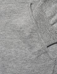 Filippa K - M. Arthur Knitted Hoodie - hoodies - light grey - 3