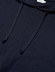 Filippa K - M. Arthur Knitted Hoodie - hoodies - navy - 1