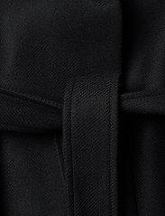Filippa K - Kaya Coat - ullkappor - black - 4
