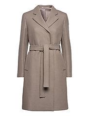 Kaya Coat - GREY TAUPE