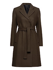 Kaya Coat - PINE GREEN