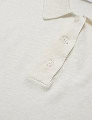 Filippa K - Angeline Knit Top - strikkede toppe - white chal - 2