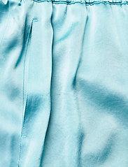 Filippa K - Hayley Satin Trouser - bukser med brede ben - turquoise - 2