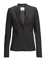 Jackie Cool Wool Jacket - BLACK