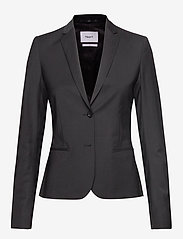 Filippa K - Jackie Cool Wool Jacket - blazere - black - 0