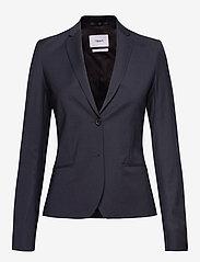 Filippa K - Jackie Cool Wool Jacket - blazere - dk. navy - 0