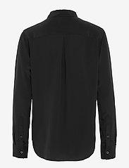 Filippa K - Classic Silk Shirt - dugim rękawem - black - 2