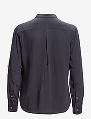 Filippa K - Classic Silk Shirt - chemises à manches longues - navy - 3