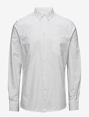 Filippa K - M. Paul Oxford Shirt - basic skjortor - white - 0