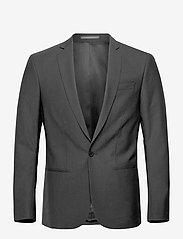 Filippa K - M. Christian Cool Wool Jacket - enkeltradede blazere - black - 0