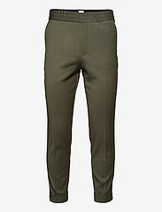 M. Terry Cropped Trouser - MOSS GREEN