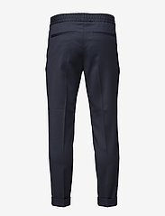 Filippa K - TERRY CROPPED TROUSER - suit trousers - navy - 1