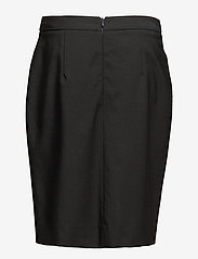 Filippa K - Cool Wool Pencil Skirt - midinederdele - black - 1
