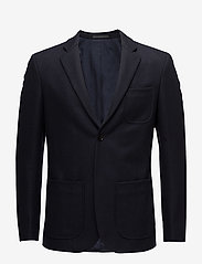 Filippa K - M. Rick Wool Jacket - blazers met enkele rij knopen - navy - 0