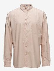Filippa K - M. Peter Washed Poplin Shirt - formele overhemden - dusty pink - 0
