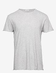 Filippa K - M. Roll Neck Tee - basic t-shirts - light grey - 0
