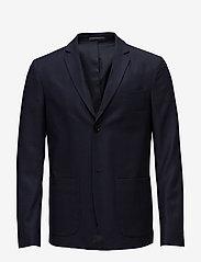 Filippa K - M. Daniel Knit Jacket - enkeltradede blazere - navy - 0