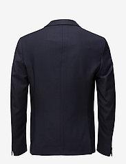 Filippa K - M. Daniel Knit Jacket - enkeltradede blazere - navy - 1