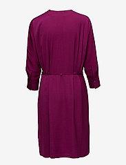Filippa K - Slinky Wrap Dress - wikkel jurken - orchid - 1
