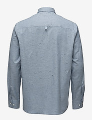 Filippa K - M. Heath Tweed Shirt - chemises basiques - aquatic me - 1