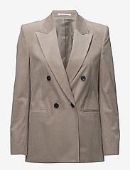 Filippa K - Katie Cord Jacket - suits & co-ords - stone - 0