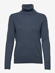 Filippa K - Cashmere Roller Neck Sweater - kashmir - blue grey - 0