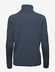 Filippa K - Cashmere Roller Neck Sweater - kashmir - blue grey - 1