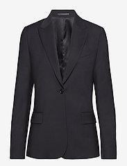 Filippa K - Sasha Cool Wool Blazer - blazere - black - 0