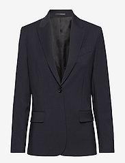 Filippa K - Sasha Cool Wool Blazer - blazere - dk. navy - 0