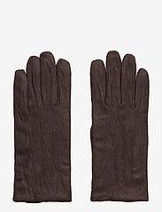 Filippa K - M. Classic Leather Gloves - rękawiczki - cassis - 0
