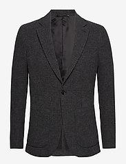Filippa K - M. Dean Knit Look Jacket - blazers met enkele rij knopen - anthracite - 0