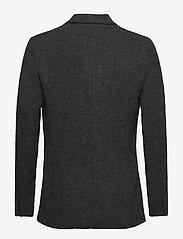 Filippa K - M. Dean Knit Look Jacket - blazers met enkele rij knopen - anthracite - 1