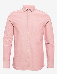 Filippa K - M. Tim Oxford Shirt - chemises basiques - pink cedar - 0