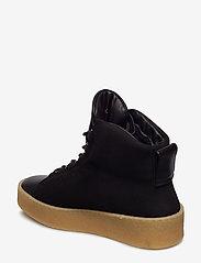 Filippa K - Anna Winter Laced Boot - flat ankle boots - black nubu - 2