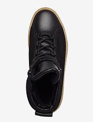 Filippa K - Anna Winter Laced Boot - flat ankle boots - black nubu - 3