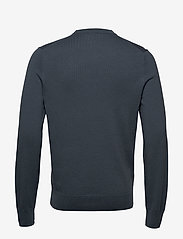 Filippa K - M. Cotton Merino Basic Sweater - tricots basiques - blue grey - 1
