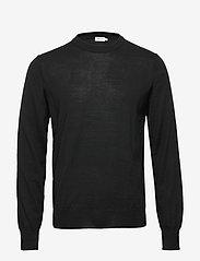 Filippa K - M. Merino Sweater - knitted round necks - black - 0