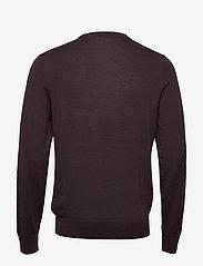 Filippa K - M. Merino Sweater - pulls col rond - dark plum - 1