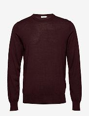 Filippa K - M. Merino Sweater - rund hals - deep shira - 0