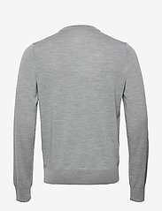 Filippa K - M. Merino Sweater - knitted round necks - grey mel. - 1
