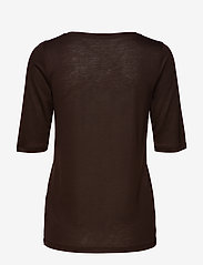 Filippa K - Tencel Scoop-neck Tee - t-shirts - fondant - 1