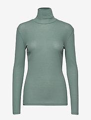 Filippa K - Alaina Top - basic t-shirts - mint powde - 0
