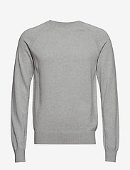 M. Cotton Cashmere Knitted Swe - LIGHT GREY