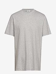 Filippa K - M. Single Jersey Tee - basic t-shirts - light grey - 0