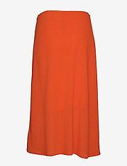 Filippa K - Mesh Skirt - maxi nederdele - tangerine - 1