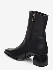 Filippa K - Eileen Leather Boot - enkellaarsjes met hak - black - 2