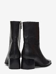Filippa K - Eileen Leather Boot - enkellaarsjes met hak - black - 4