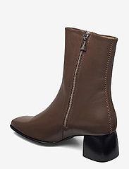 Filippa K - Eileen Leather Boot - stiefeletten mit absatz - grey taupe - 2