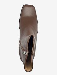 Filippa K - Eileen Leather Boot - stiefeletten mit absatz - grey taupe - 3