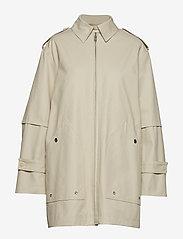 Filippa K - Tribeca Coat - lette frakker - ivory - 0
